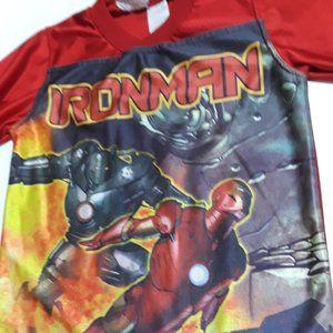 Iron Man Heavy Metal red jersey